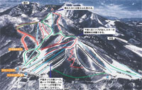 Togakushi Snow World Ski Piste Map