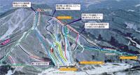 Tangram Ski Circus Piste Map